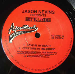 Jason Nevins - The Red EP