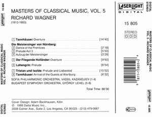 Richard Wagner - Masters Of Classical Music, Vol.5: Wagner