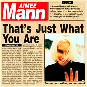 Aimee Mann - That's Just What You Are