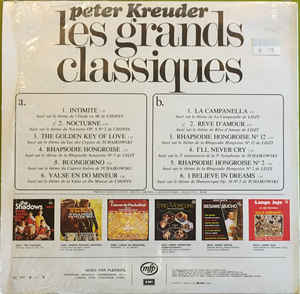 Peter Kreuder - Les Grands Classiques - In A Classical Mood With Peter Kreuder