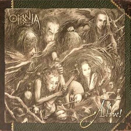 Omnia - Alive! cover of release