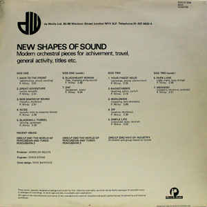 Peter Milray - New Shapes Of Sound