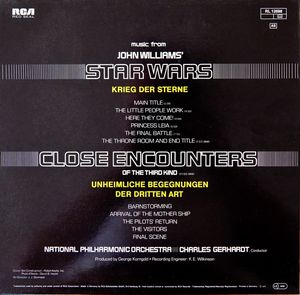 Charles Gerhardt - Music From John Williams' Close Encounters Of The Third Kind / Star Wars