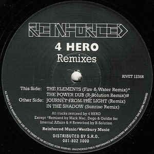4 Hero - Journey From The Light (Remixes)
