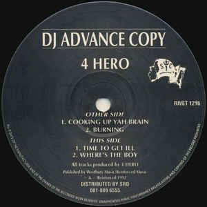 4 Hero - Cooking Up Yah Brain