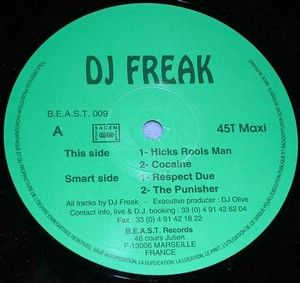 DJ Freak - Hicks Rools Man