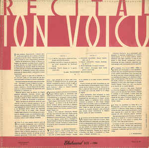 Ion Voicu - Recital Ion Voicu