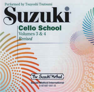 Tsuyoshi Tsutsumi - Suzuki Cello School Volumes 3 & 4 (Revised)