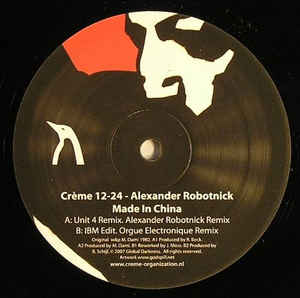 Alexander Robotnick - Made In China