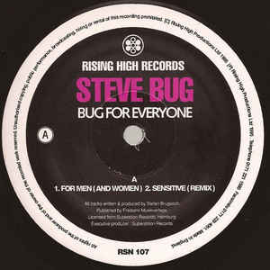 Steve Bug - Bug For Everyone