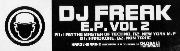 DJ Freak - EP Vol. 2 cover of release