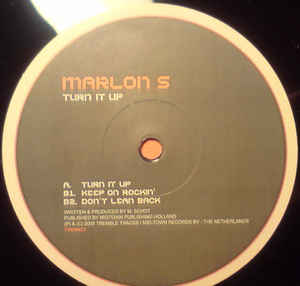 Marlon S - Turn It Up cover of release