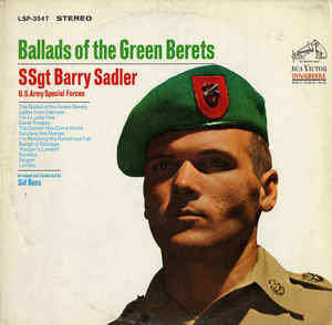 Barry Sadler - Ballads Of The Green Berets cover of release
