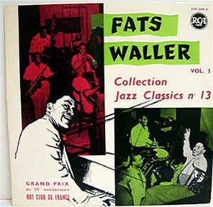 Fats Waller - Vol.3 (Collection Jazz Classics N°13)