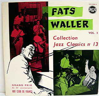 Fats Waller - Vol.3 (Collection Jazz Classics N°13) cover of release