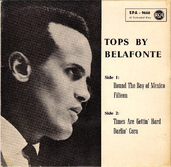 Harry Belafonte - Tops By Belafonte cover of release