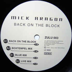 Mick Aragon - Back On The Block
