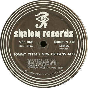 Tommy Yetta - New Orleans Jazz