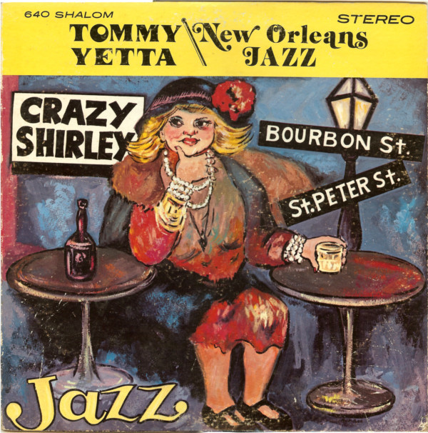 Tommy Yetta - New Orleans Jazz cover of release