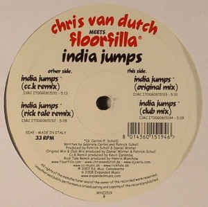 Chris Van Dutch, Floorfilla - India Jumps cover of release