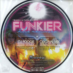 Mark V. & Poogie Bear - Funkier (The Remixes) cover of release