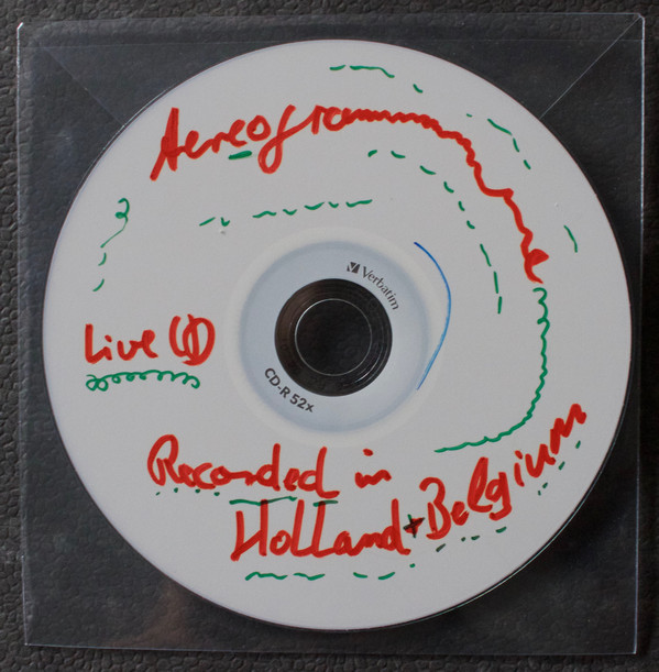 Aereogramme - Live Tour CDR - Europe 2003 cover of release