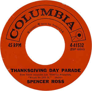 Spencer Ross - Tracy's Theme / Thanksgiving Day Parade