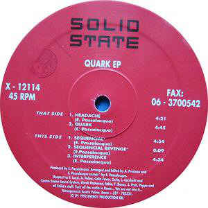 Solid State (5) - Quark EP