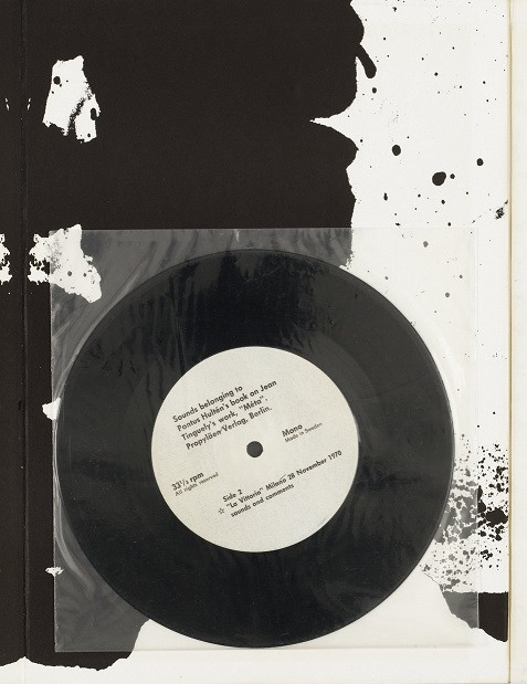Jean Tinguely - Méta cover of release
