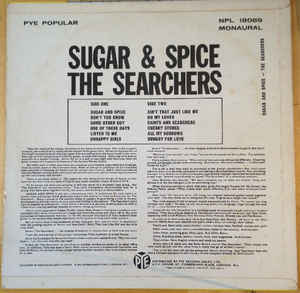 Searchers, The - Sugar And Spice