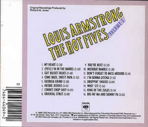Louis Armstrong - The Hot Fives, Volume I