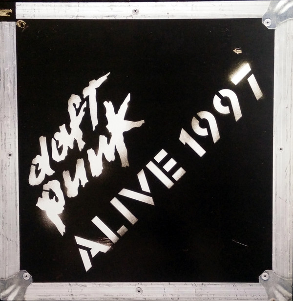 Daft Punk - Alive 1997 cover of release
