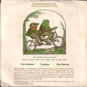 Arnold Lobel - Three Stories From Frog And Toad Together