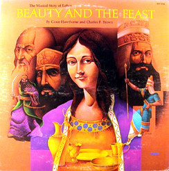 Grace Hawthorne, Charles F. Brown - The Musical Story Of Esther: Beauty And The Feast cover of release
