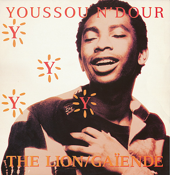 Youssou N'Dour - The Lion / Gaïende cover of release