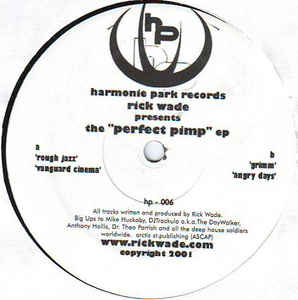 Rick Wade - The  Perfect Pimp EP