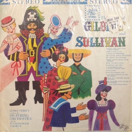Gilbert & Sullivan - The Best Of Gilbert And Sullivan cover of release