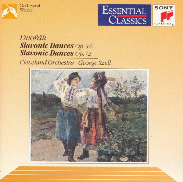 Antonín Dvořák, Cleveland Orchestra, The, George Szell - Slavonic Dances cover of release