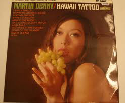 Martin Denny - Hawaii Tattoo cover of release