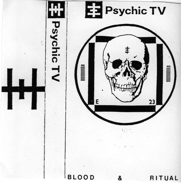 Psychic TV - Blood & Ritual cover of release