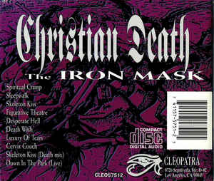 Christian Death featuring Rozz Williams - The Iron Mask