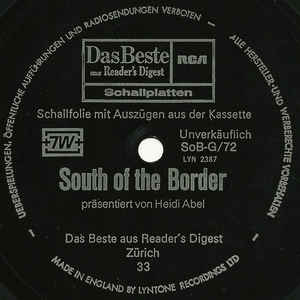 Heidi Abel - South Of The Border