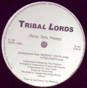 Tribal Lords - Mispent Youth
