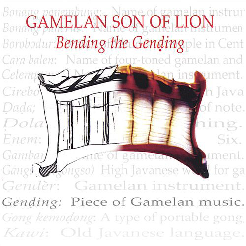 Gamelan Son Of Lion - Bending The Gending cover of release