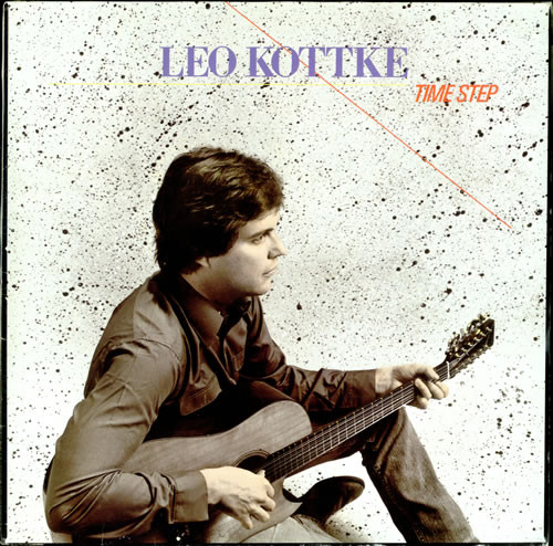 Leo Kottke - Time Step cover of release