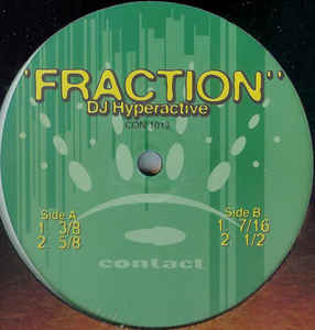 DJ Hyperactive - Fraction