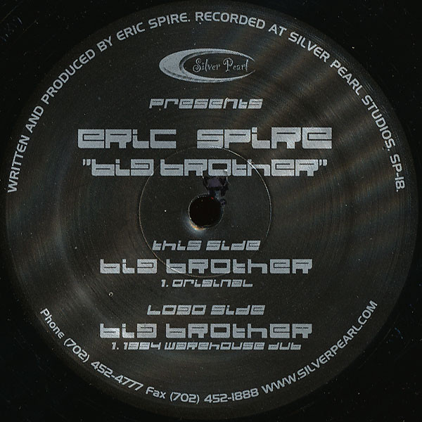 Eric Spire - Big Brother cover of release