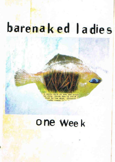 Barenaked Ladies - One Week cover of release