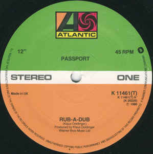 Passport (2) - Rub-A-Dub