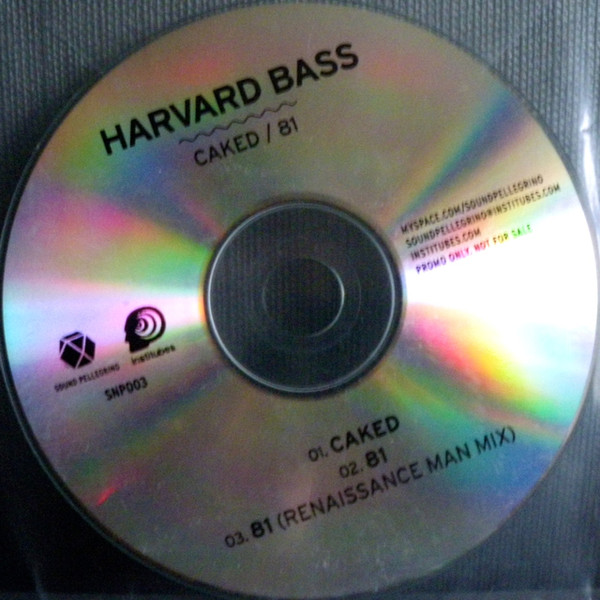 Harvard Bass - Caked / 81 cover of release